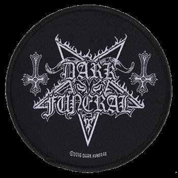 Buy Pentagram Logo With Inverted Crosses by Dark Funeral