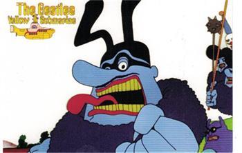 Buy Blue Meanie (Postcard) by Beatles