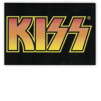 Buy Orange Logo (Postcard) by Kiss