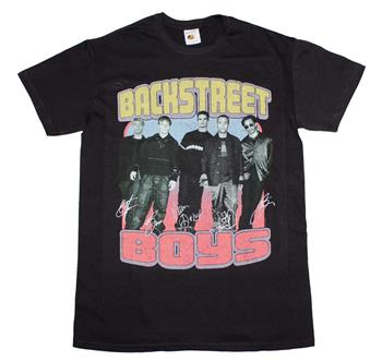 Buy Backstreet Boys Vintage Destroyed T-Shirt by Backstreet Boys