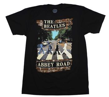 Buy Beatles Abbey Brick Photo T-Shirt by Beatles