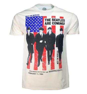 Buy Beatles Are Coming T-Shirt by Beatles