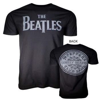 Buy Beatles Lonely Hearts Black T-Shirt by Beatles