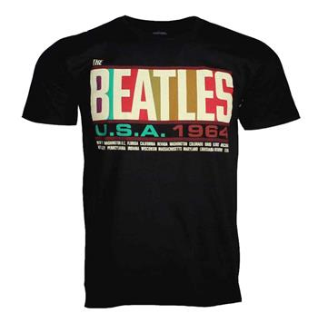 Buy Beatles USA 1964 T-Shirt by Beatles