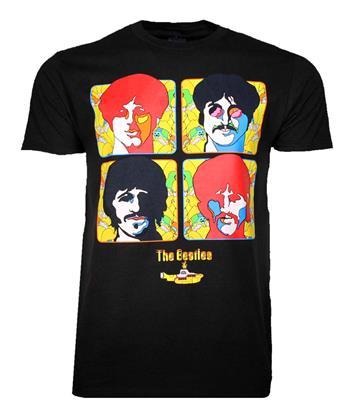 Buy Beatles Yellow Sub 4 Portraits T-Shirt by Beatles