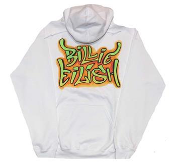 Buy Billie Eilish Grafitti Hoodie Sweatshirt by Billie Eilish