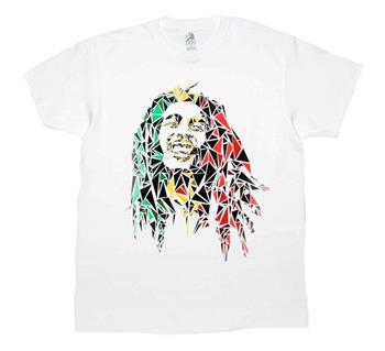 Buy Bob Marley Mosaic T-Shirt by Bob Marley