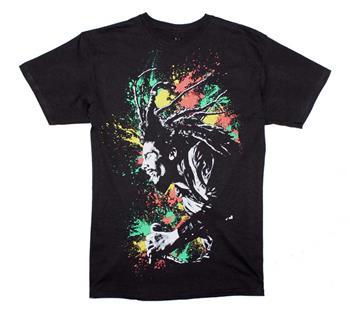 Buy Bob Marley Splatter T-Shirt by Bob Marley