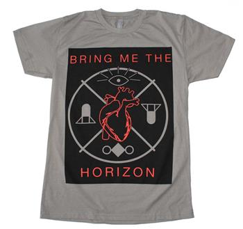 Buy Bring me the Horizon Heart and Symbols T-Shirt by Bring Me The Horizon
