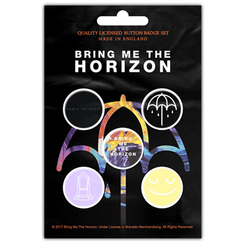 Buy That's The Spirit (Button Pin Set) by Bring Me The Horizon