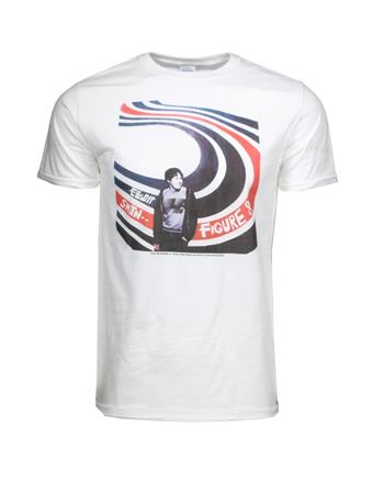 Buy Elliott Smith Figure 8 White T-Shirt by Elliott Smith