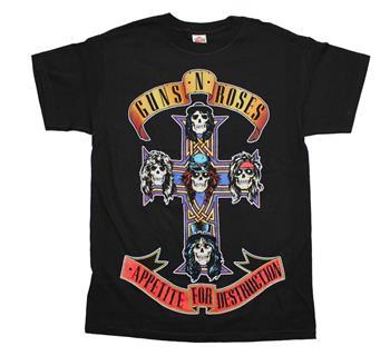 Buy Guns n Roses Appetite For Destruction Jumbo Print T-Shirt by Guns 'n' Roses