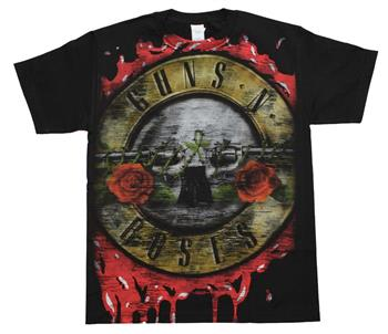 Buy Guns n Roses Bloody Bullet T-Shirt by Guns 'n' Roses