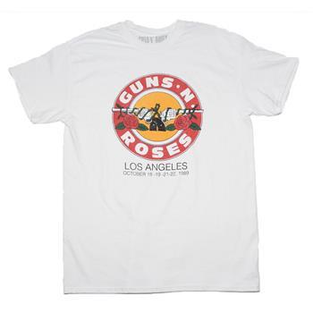 Buy Guns n Roses LA Bullet T-Shirt by Guns 'n' Roses