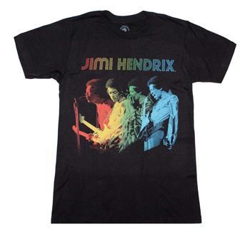 Buy Jimi Hendrix Rainbow T-Shirt by Jimi Hendrix