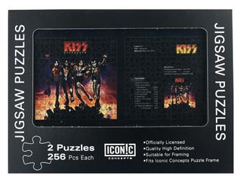 Buy KISS Destroyer Dual Puzzle Pack (2 Puzzles) by Kiss