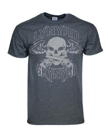 Buy Lynyrd Skynyrd Biker Patch T-Shirt by Lynyrd Skynyrd