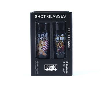 Buy Lynyrd Skynyrd Girls Shot Glasses Set (2 Pack) by Lynyrd Skynyrd