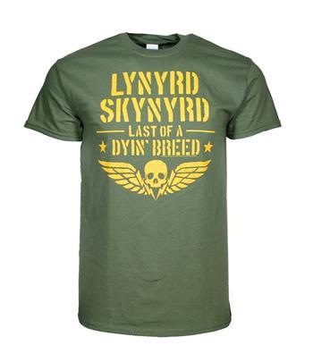 Buy Lynyrd Skynyrd Last of a Dying Breed T-Shirt by Lynyrd Skynyrd