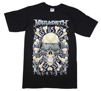 Buy Megadeth Red Bones Regular T-Shirt by Megadeth