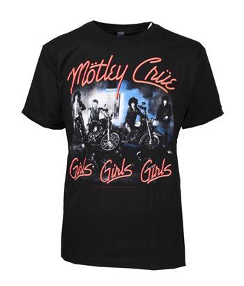 Buy Motley Crue Girls Girls Girls T-Shirt by Motley Crue