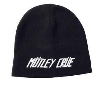 Buy Motley Crue Logo Beanie Hat by Motley Crue