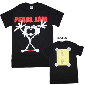 Buy Pearl Jam Alive Stickman T-Shirt by Pearl Jam