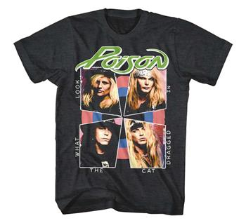 Buy Poison Cat Dragged In T-Shirt by Poison