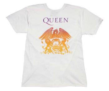 Buy Queen Crest White T-Shirt by Queen