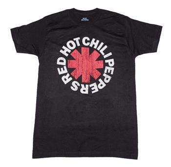 Buy Red Hot Chili Peppers Classic Asterisk T-Shirt by Red Hot Chili Peppers