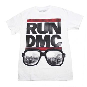 Buy Run DMC Glasses NYC T-Shirt by Run D.m.c.