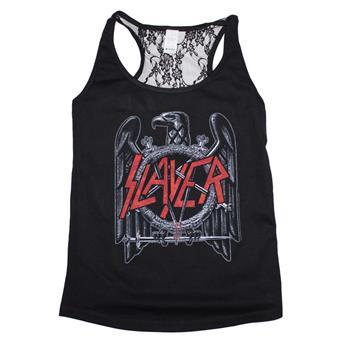 Buy Slayer Eagle Lace Back Juniors Tank by Slayer