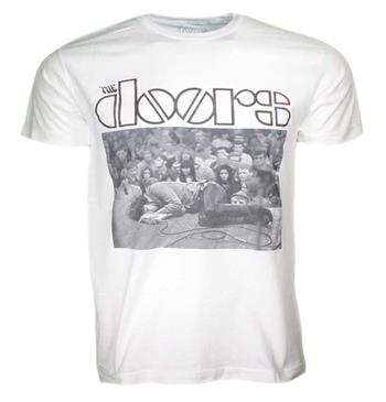 Buy The Doors Stage White T-Shirt by The Doors