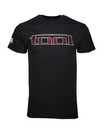 Buy Tool Red Pattern T-Shirt by Tool