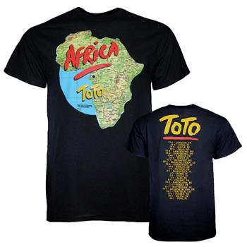 Buy Toto Africa Tour T-Shirt by Toto
