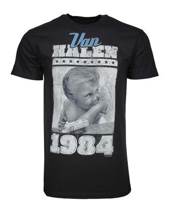 Buy Van Halen 1984 Baby Jumbo Print T-Shirt by Van Halen