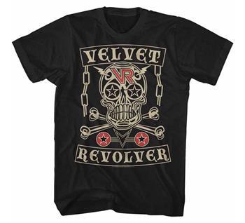 Buy Velvet Revolver Skull T-Shirt by Velvet Revolver
