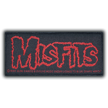 Misfits Red Logo Patch