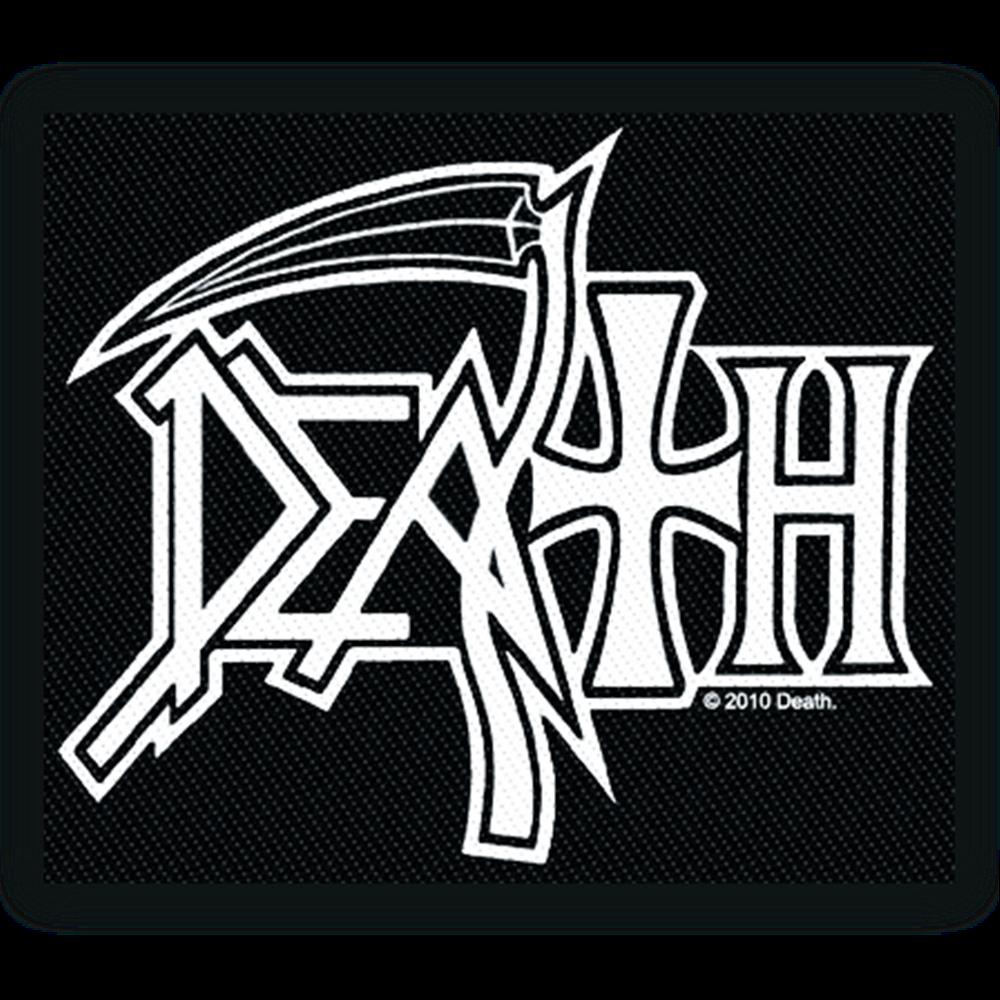Silver Logo Patch