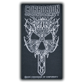Corrosion Of Conformity Spike Skull Logo Patch