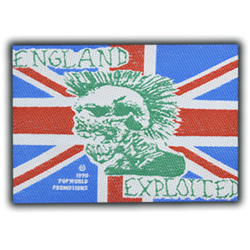 Exploited (the) England Patch