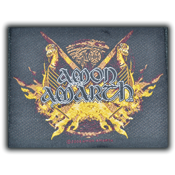 Amon Amarth Viking Boat Prow Patch