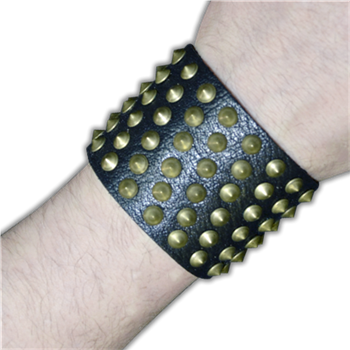 Buy Bracelet With Small Studs, Diagonal Rows by GENERIC