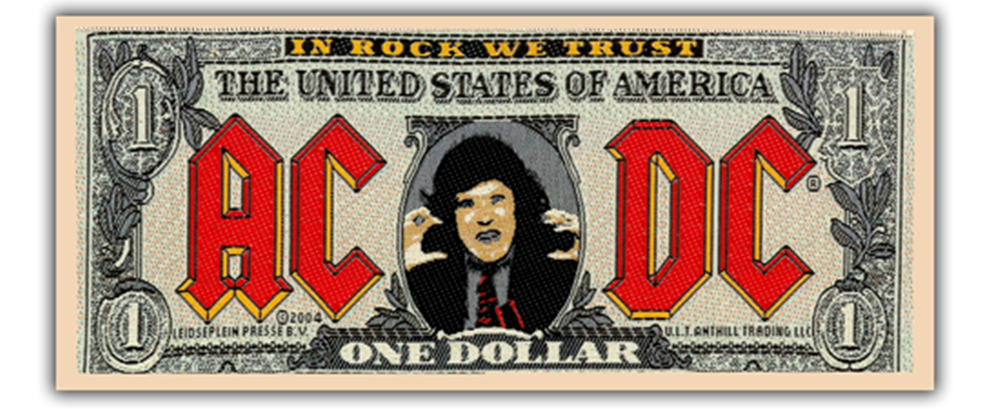 Dollar Bill Patch