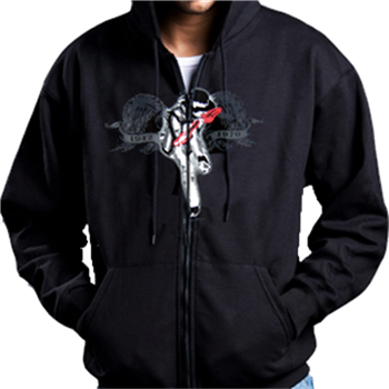 Buy Memorial Zip Hoodie by Jimi Hendrix