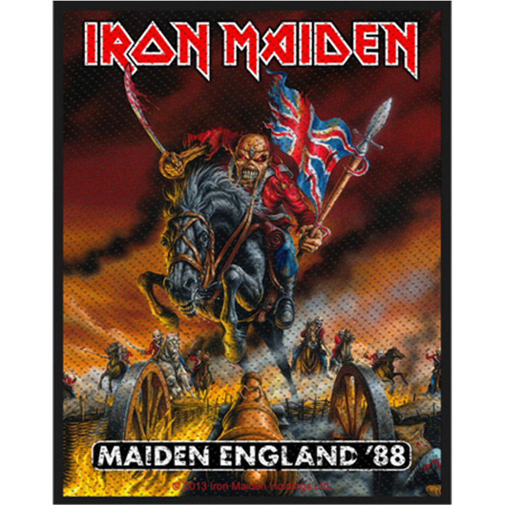 Maiden England '88 Patch