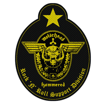 Buy R N' R Support Division Patch by Motorhead
