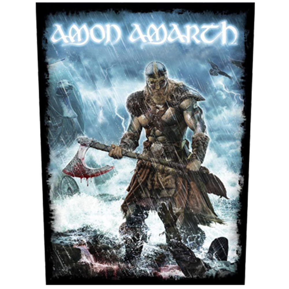 Viking Storm Backpatch