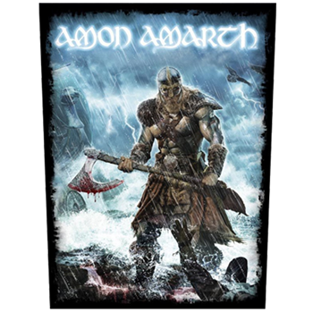 Amon Amarth Viking Storm Backpatch