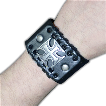 Buy Leather Bracelet by GENERIC
